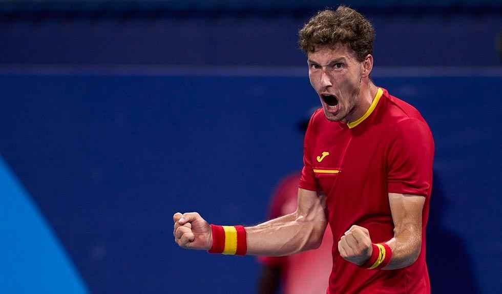 Carreño consigue el bronce ante Djokovic