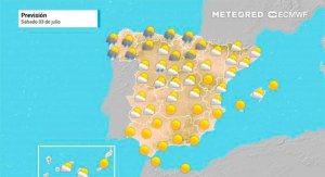 Julio comienza con temperaturas de más de 40º