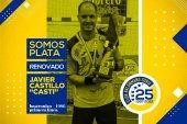El Balonmano Soria renueva a su capitán Javier Castillo