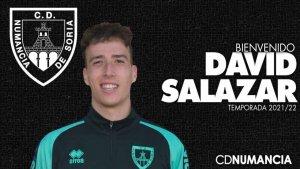 David Salazar entrenará a los porteros del Numancia