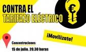 FACUA convoca concentraciones contra el tarifazo eléctrico