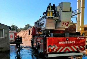 Incendio extinguido en la empresa Losan
