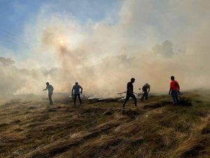 Los vecinos extinguen incendio en Sotillo del Rincón