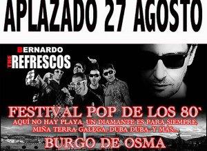 Aplazado Festival Pop de los 80´