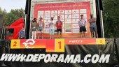 Hidalgo y Baxter ganan el triatlón de Almazán