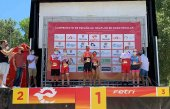 Muñoz e Izquierdo, ganadores regionales de Triatlón Sprint