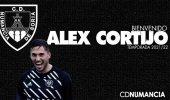 Alex Cortijo, la última incorporación del Numancia