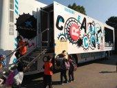 El autobús de Creactivity llega a Ólvega