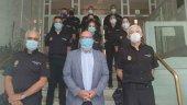 La Comisaría recibe nueve agentes en prácticas