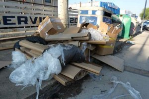 Cs denuncia lamentable abandono de polígono Las Casas
