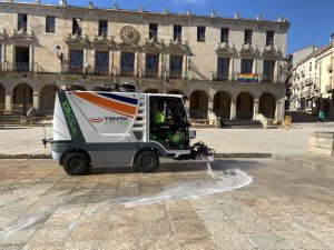Pruebas con sistemas de limpieza con emisiones cero