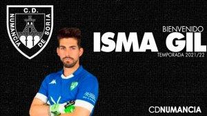 Isma Gil, nuevo portero para el Numancia
