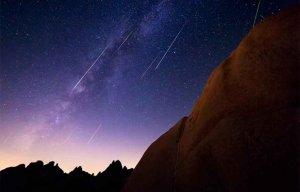Cuándo ver las lluvias de estrellas acuáridas