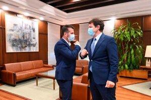 Mañueco plantea grupo de trabajo para fondos europeos