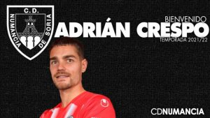 Adrián Crespo apuntala zaga numantina