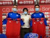 Cortijo y Suárez estrenan su nueva camiseta