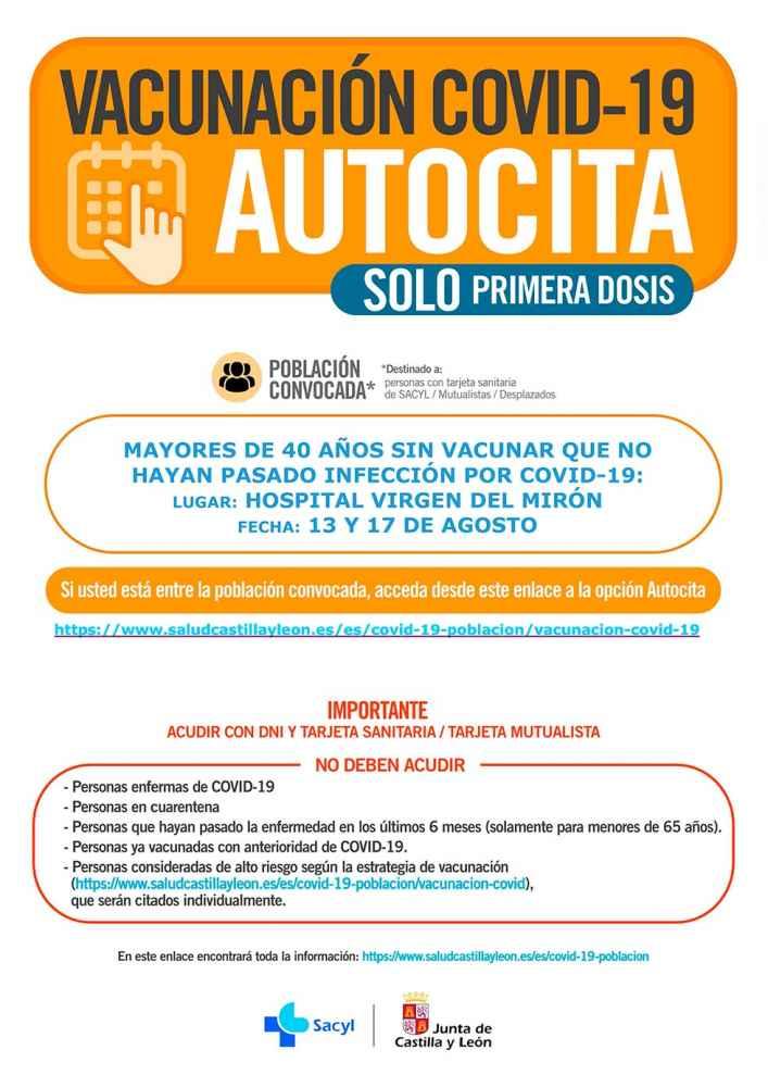 La Junta publica convocatorias de auto cita
