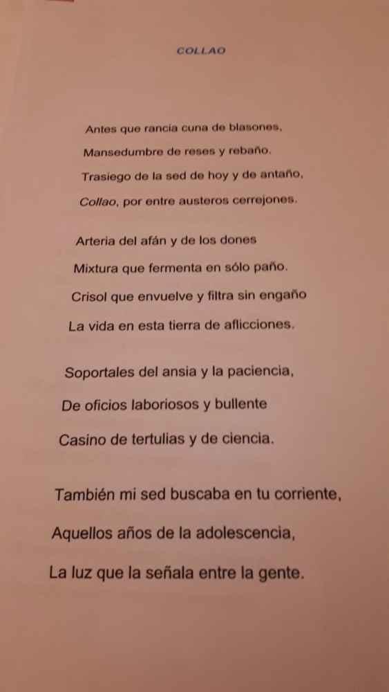 """Entrega del premio """"Un Soneto para Soria"""""""