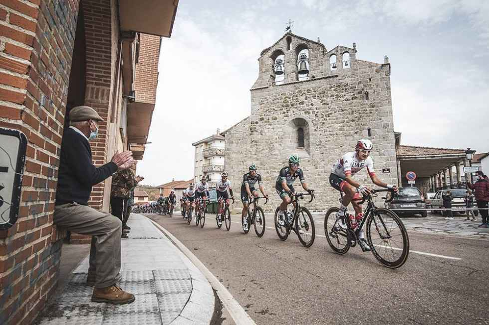 La cuarta etapa de Vuelta, desde El Burgo