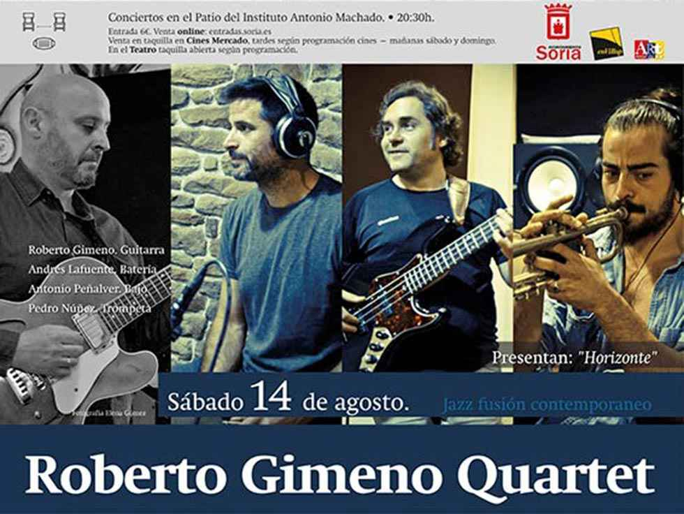 "Roberto Gimeno Quartet presenta ""Horizonte"""