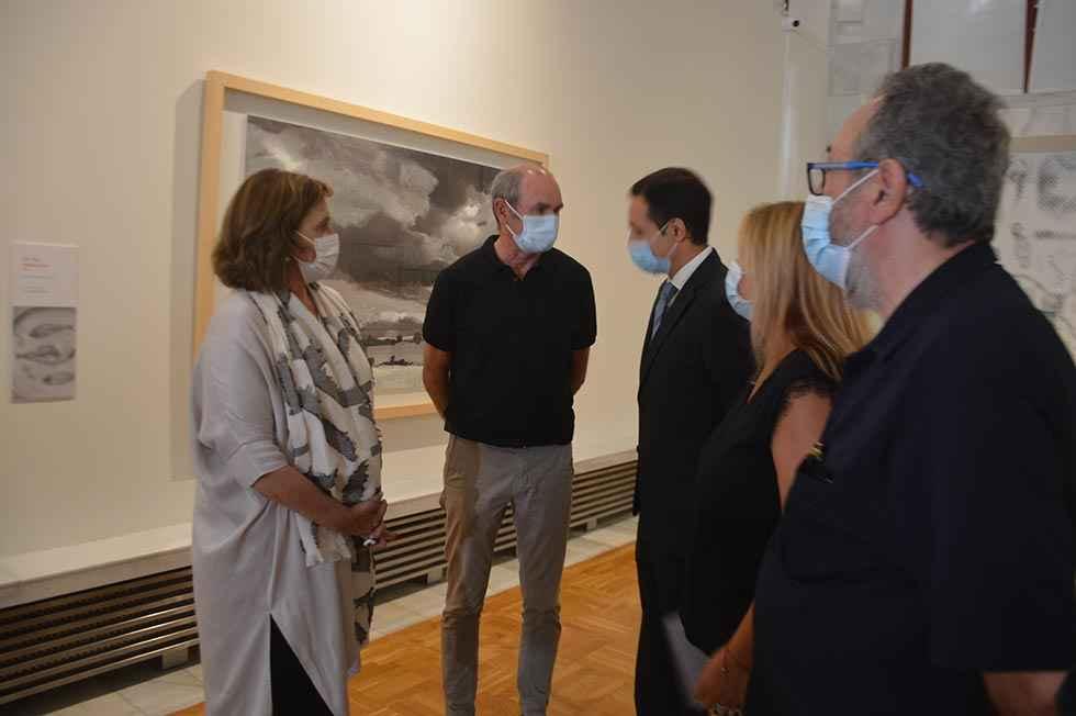 Exposición de Sanz Aldea en el Numantino