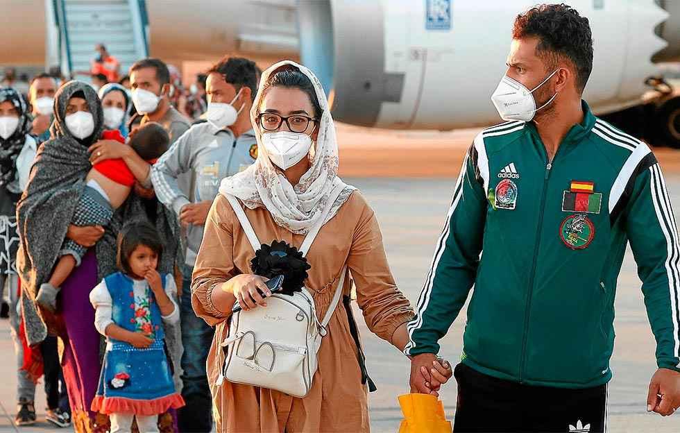 El Gobierno deriva 14 refugiados afganos a Soria