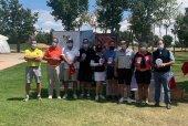 Primeros ganadores del Torneo de Golf Mercado Municipal