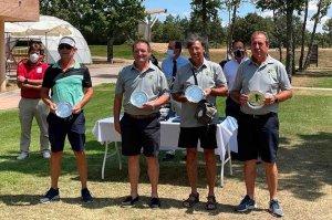 Meritorio segundo puesto en Interclubes de golf