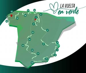Únete a La Vuelta en Verde de CRS