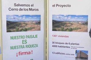 Firmas para salvar el Cerro de los Moros