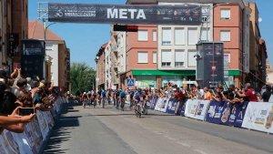 Galparsoro gana al sprint en San Esteban de Gormaz