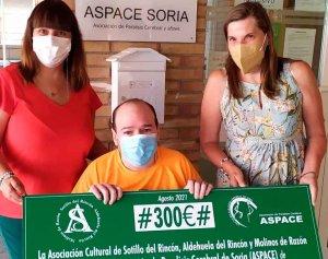 Donación a la asociación ASPACE