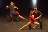 Baile deportivo coreográfico y solidario, en Garray