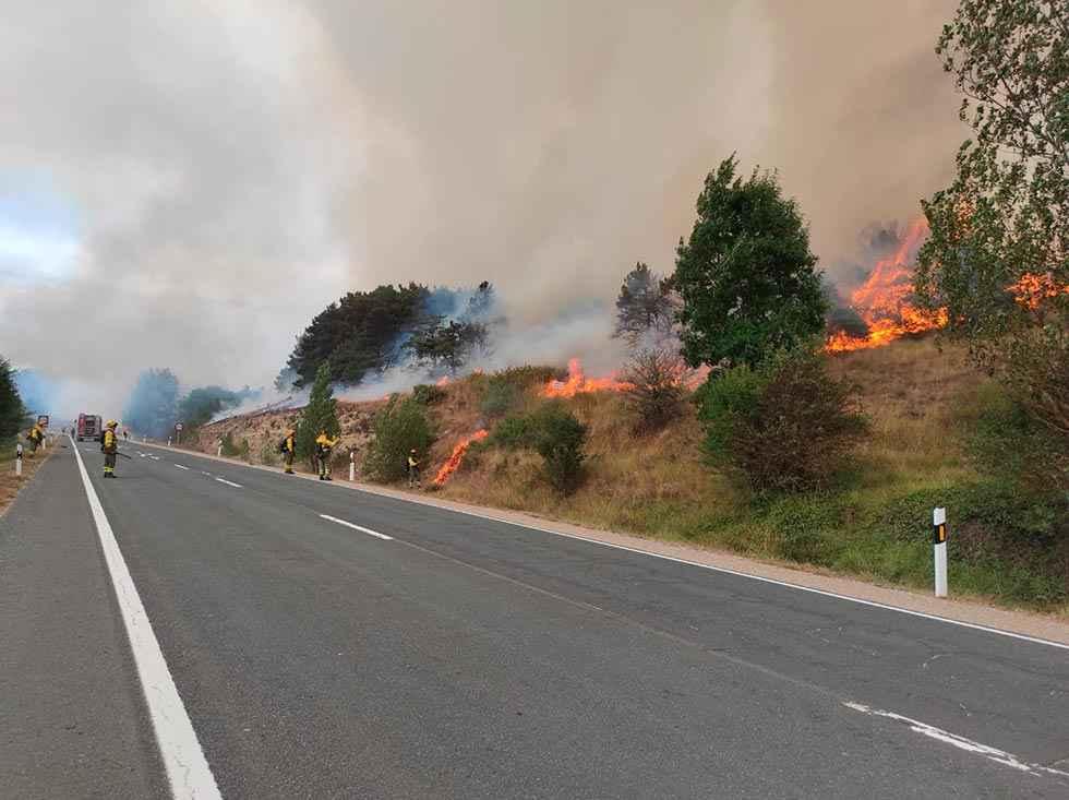 CSIF urge a Mañueco a cambiar operativo de incendios