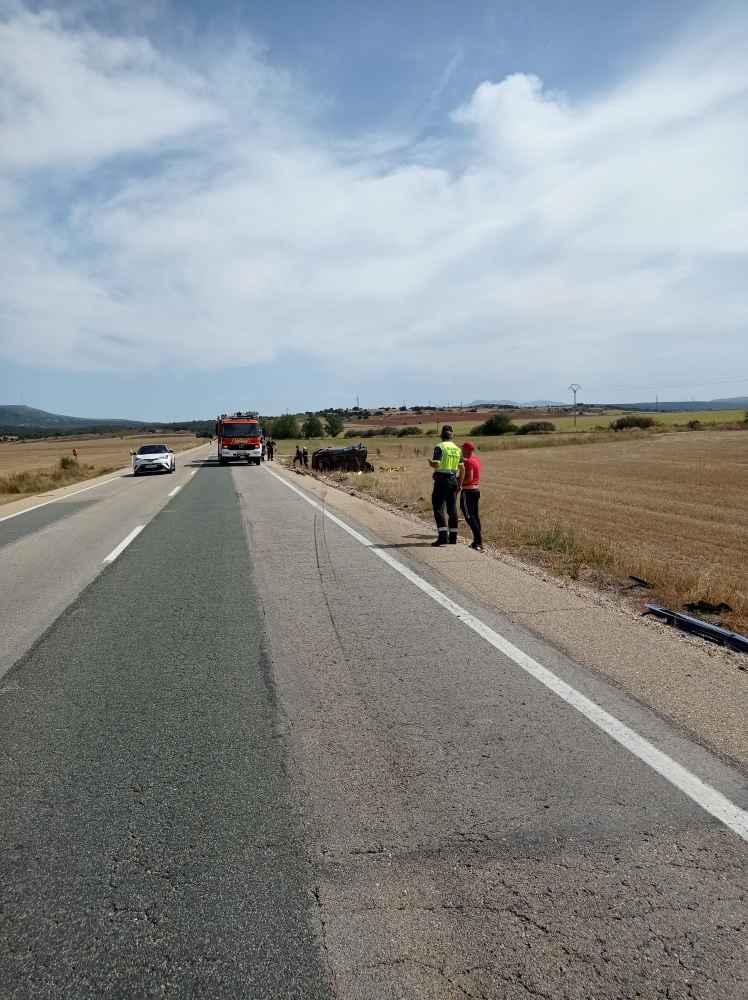 Nuevo accidente mortal, con dos fallecidos, en N-122