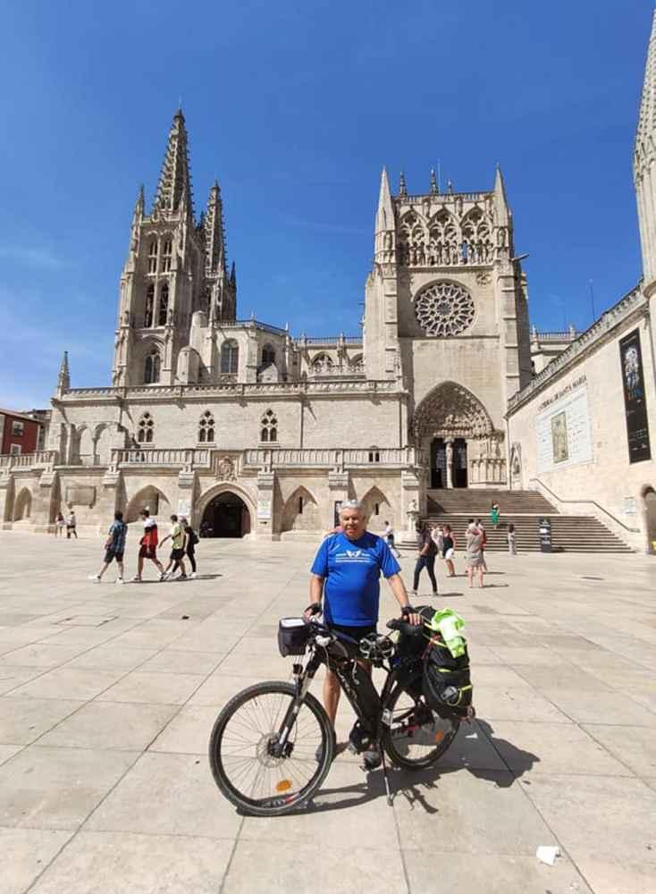 El Camino de Santiago en bici por solidaridad
