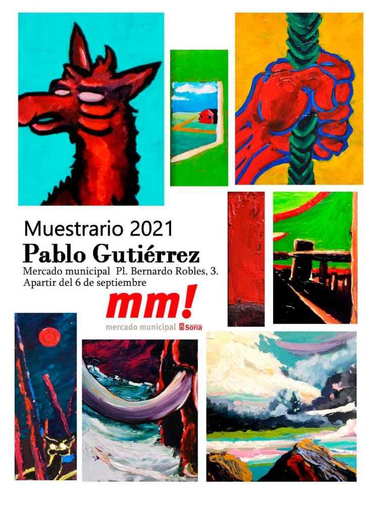 """Pablo Gutiérrez enseña su """"Muestrario"""""""