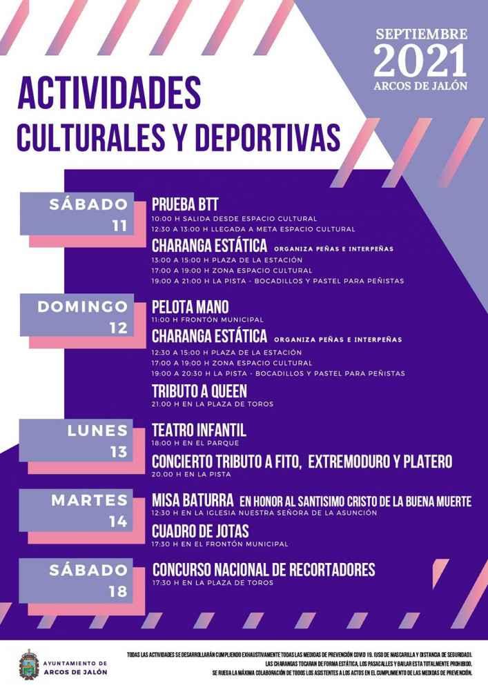 Alternativa cultural y deportiva en Arcos de Jalón