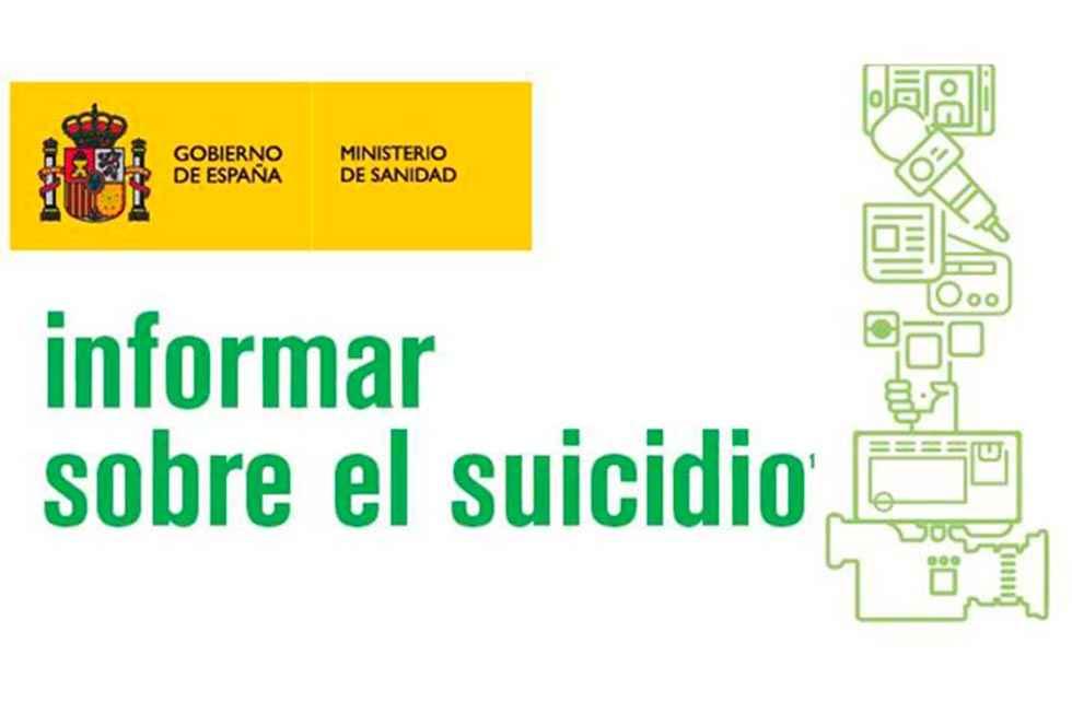 Sanidad recuerdacòmoinformar bien sobre el suicidio