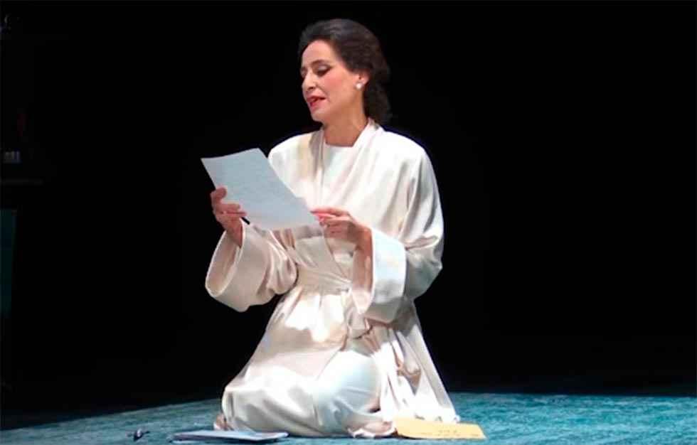 Albert Boadella acerca al ocaso de Maria Callas con Diva