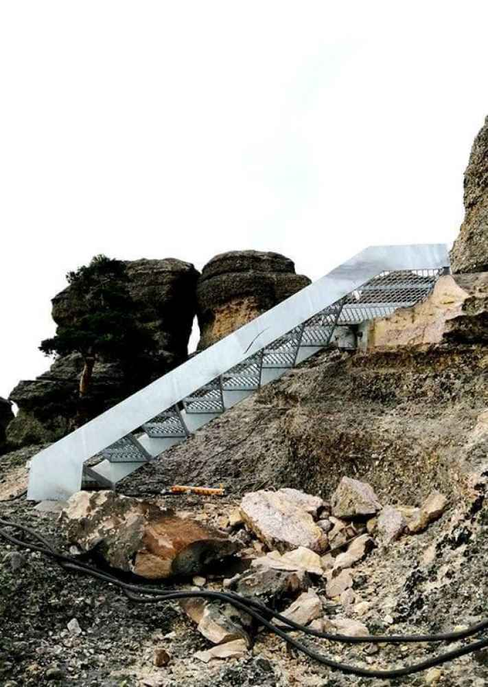 La pasarela en Castroviejo provoca quejas