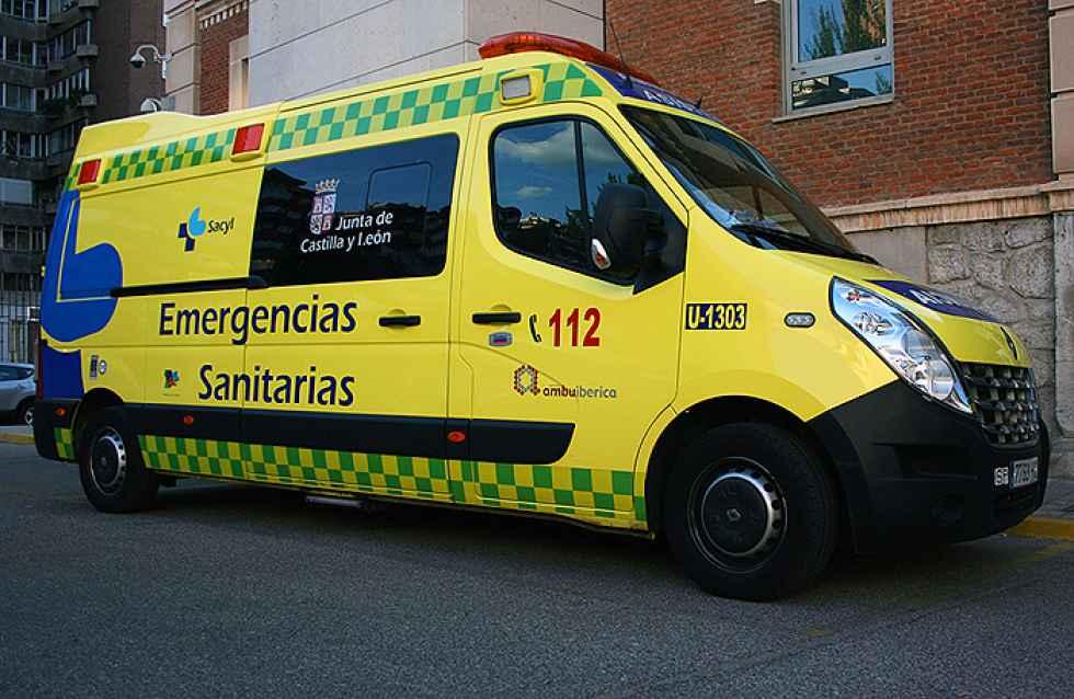 Dos mujeres atropelladas por un tractor en Segovia