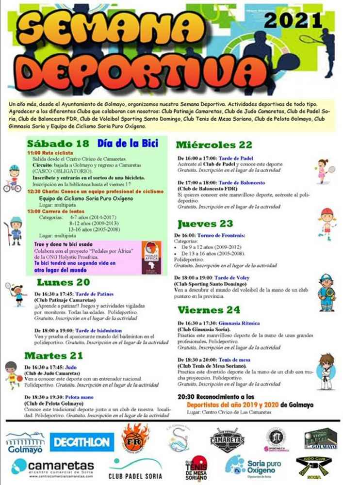 Semana Deportiva en Golmayo
