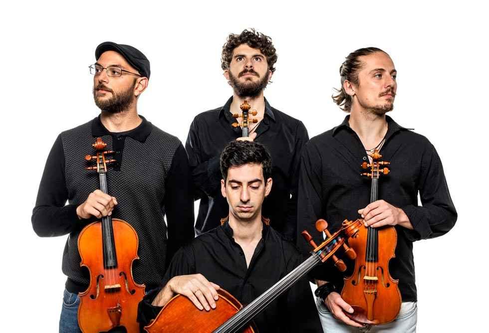 El Cuarteto Seikilos actúa en el Aula Magna