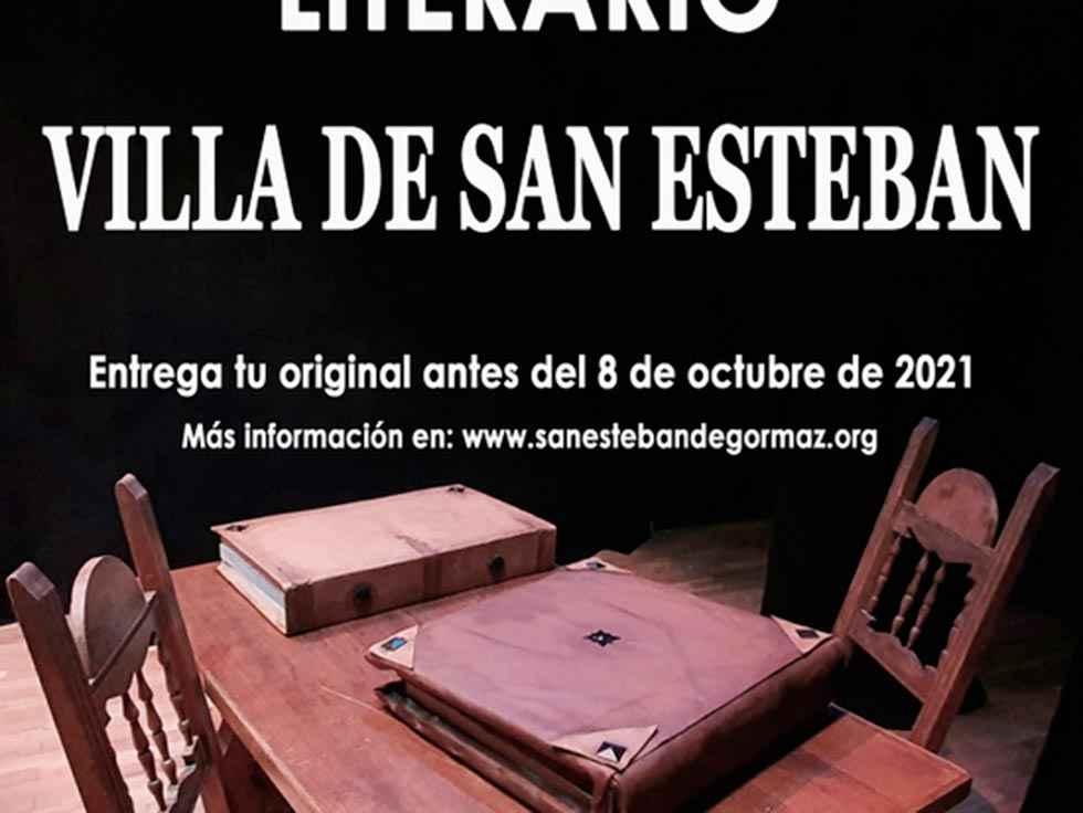 """Convocado XXVI Certamen literario """"Villa de San Esteban"""""""