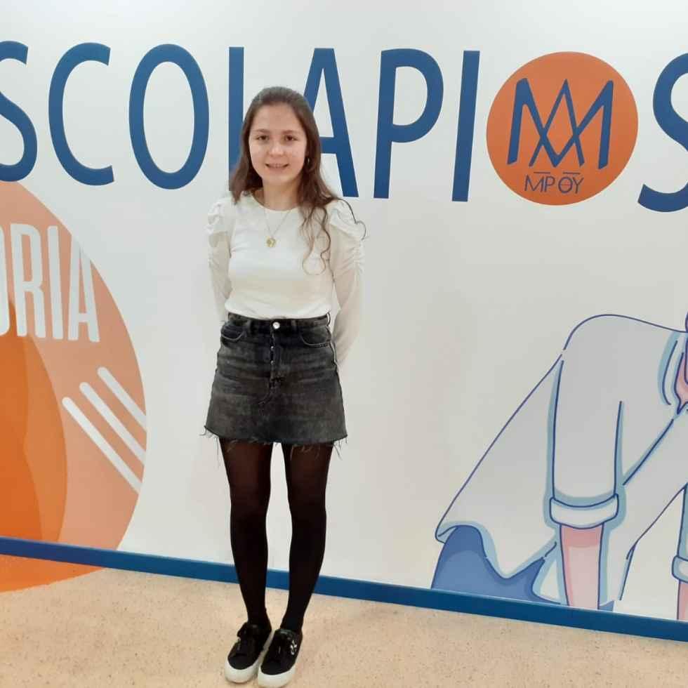 Una alumna de Escolapios, Premio extraordinario de Bachillerato