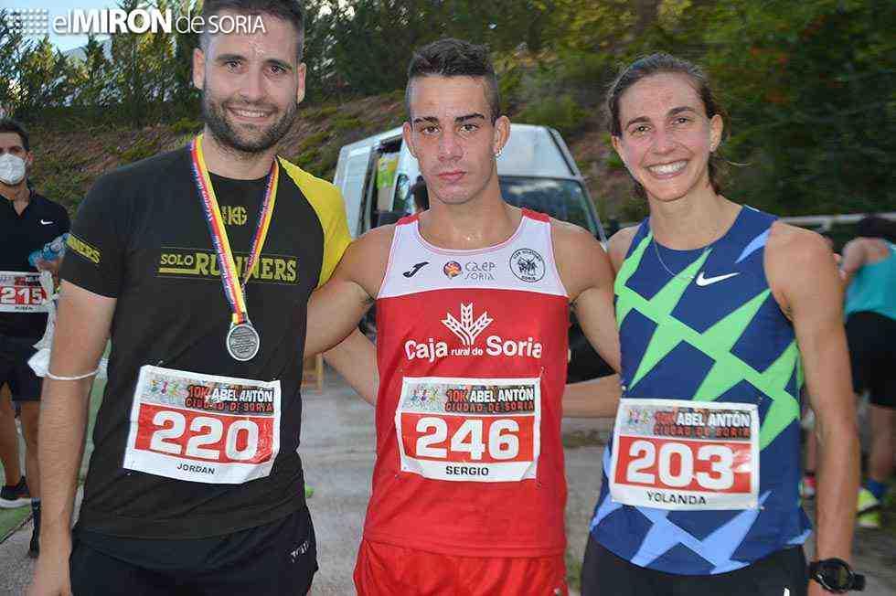 Nacho Barranco y Sergio Martínez dominan el 5K y 10K