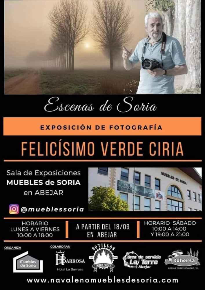 "Felicísimo Verde enseña sus ""Escenas de Soria"""