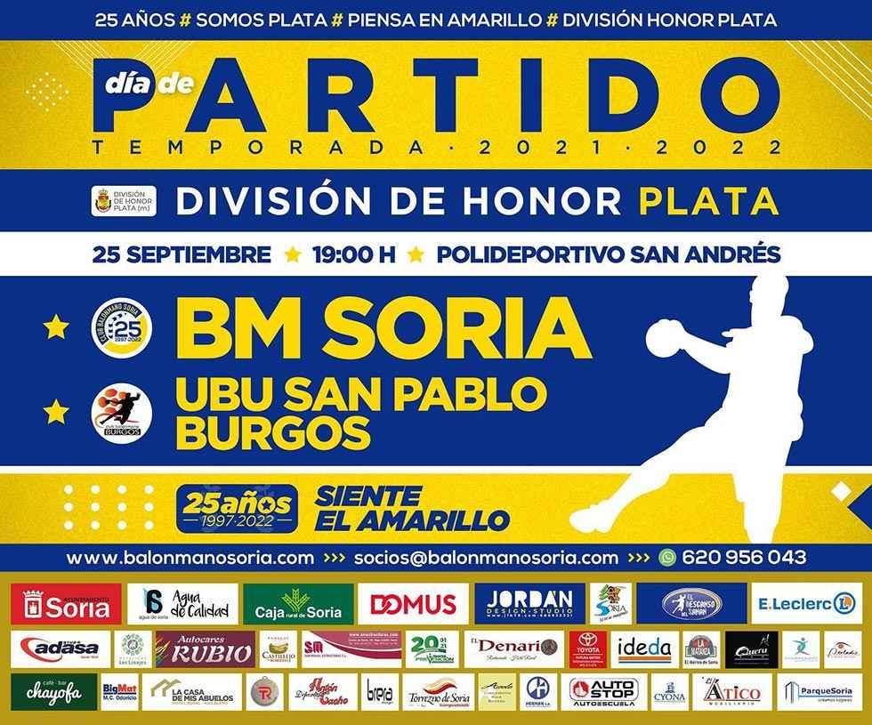 Balonmano Soria encara su debut en División de Plata