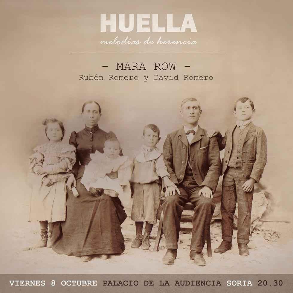 "Mara Row presenta ""Huella"""